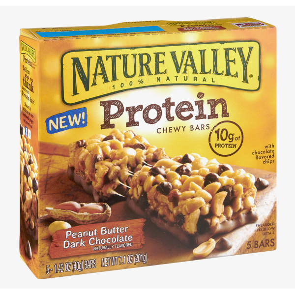 Protein and granola bars